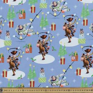 Disney Toy Story Christmas Cotton Fabric