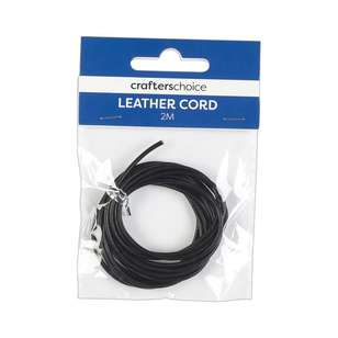 Crafters Choice 2 m Round Leather Cord
