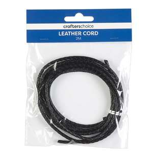 Crafters Choice Braided Leather Cord
