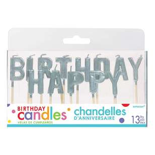 Amscan Happy Birthday Candles