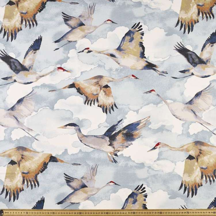 Fly Away Uncoated Curtain Fabric