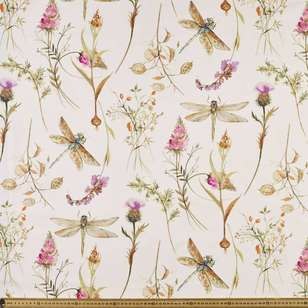 Dragonfly Uncoated Curtain Fabric