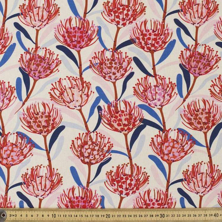 Jocelyn Proust Waratah Cotton Curtain Fabric