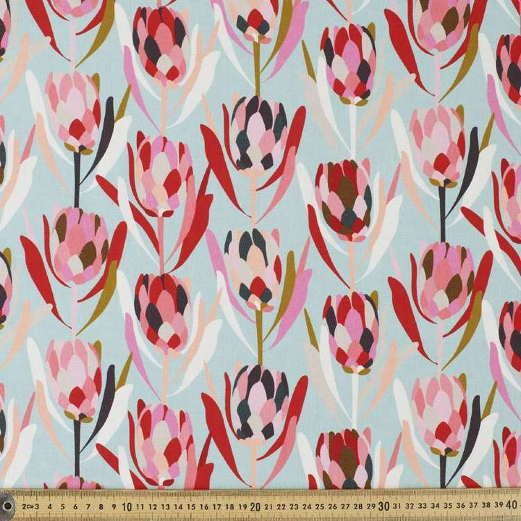 Jocelyn Proust Protea Cotton Linen Curtain Fabric