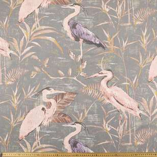 Heron Uncoated Curtain Fabric