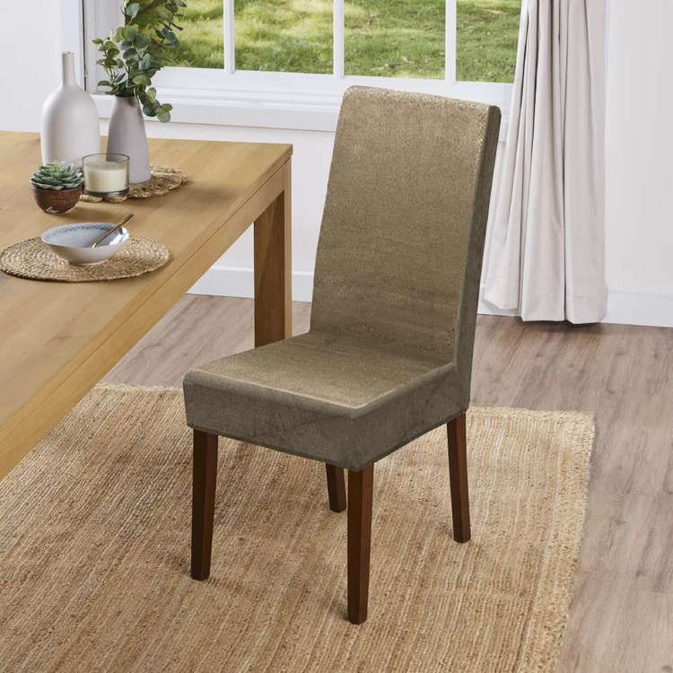 KOO Suede Dining Chair Cover