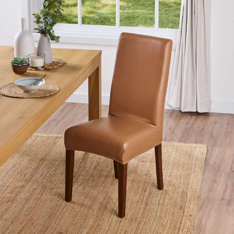 Leatherette Dining Chair Cover