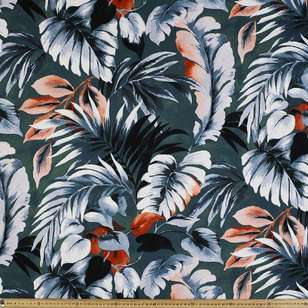 Palm # 2 Rayon Spandex Knit Fabric