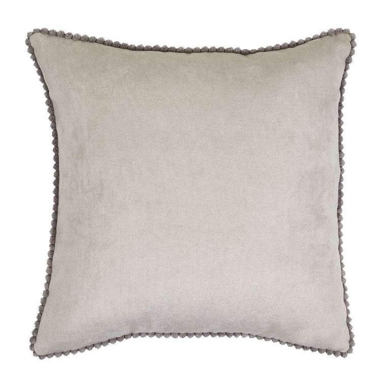 Ombre Home Classic Chic Textured Pom Cushion