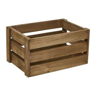 Ombre Home Beautiful Blossom Wooden Crate