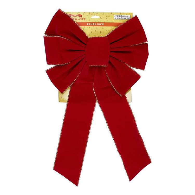 Jolly & Joy Celebrate 69 cm Plush Red Bow
