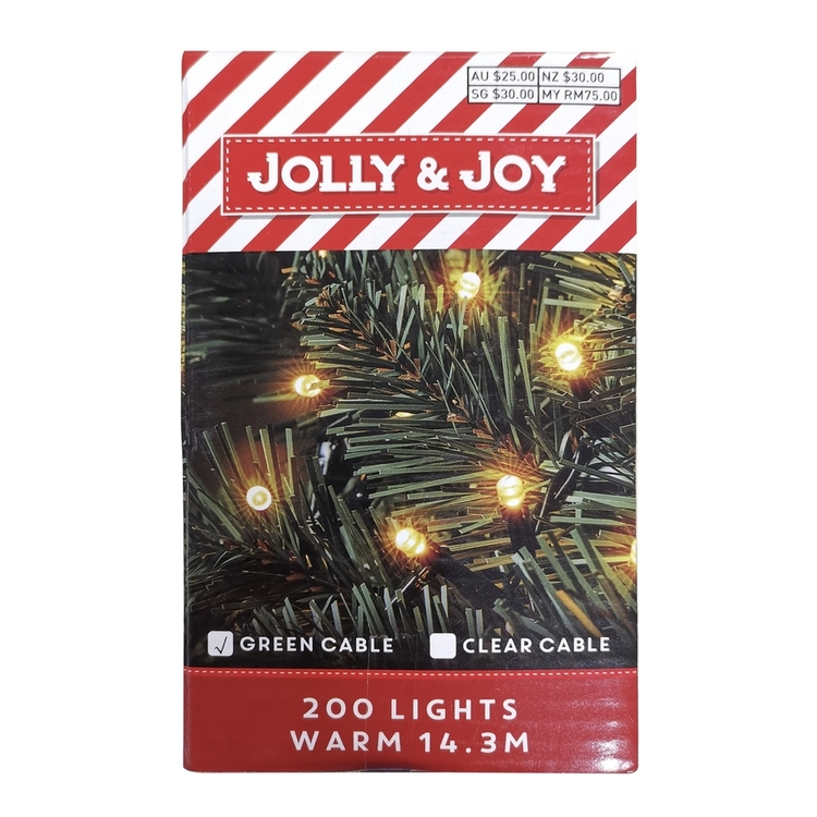 Jolly & Joy Decorate Indoor Fairy Lights
