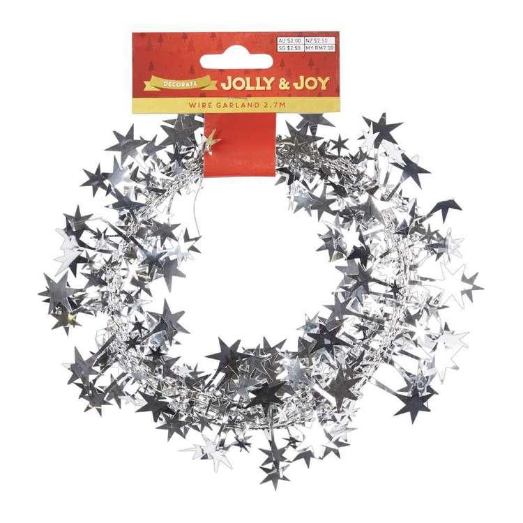 Jolly & Joy Decorate Wire Star Garland