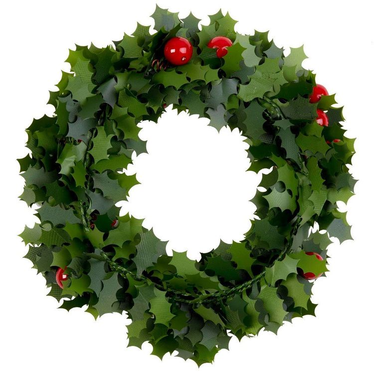 Jolly & Joy Decorate Wire Garland Holly