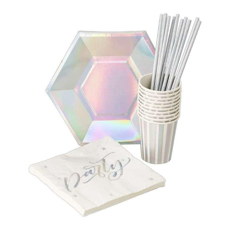 Iridescent Foil Tableware Pack