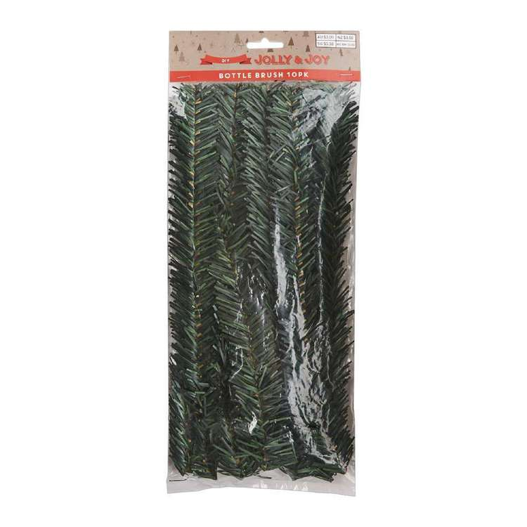 Jolly & Joy DIY PVC Bottle Brush Pine 10 Pack