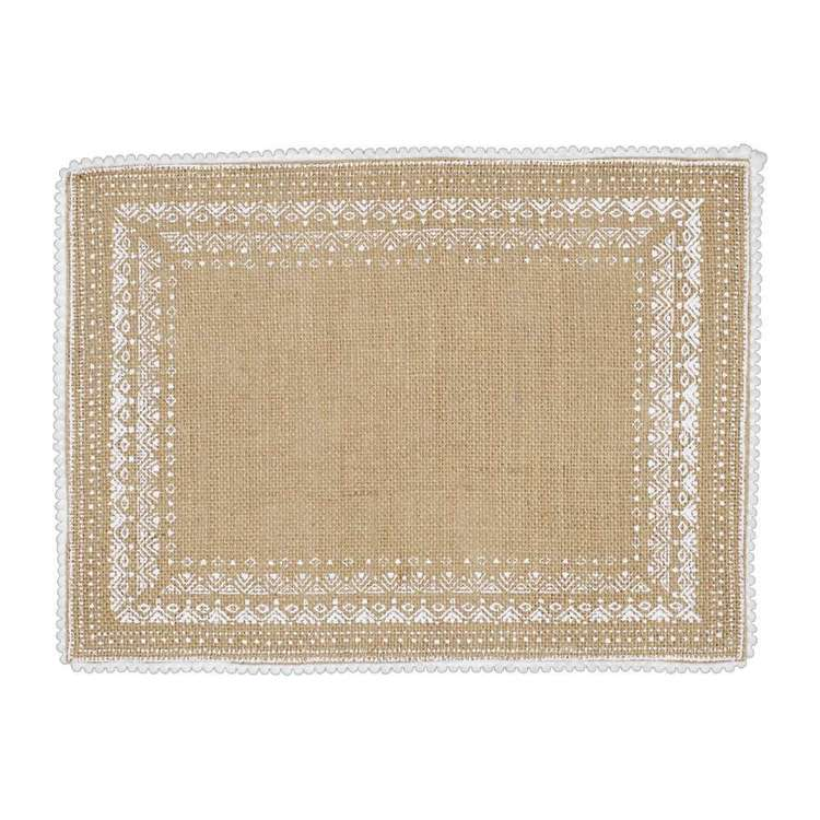 Ombre Home Country Living Linen Placemat