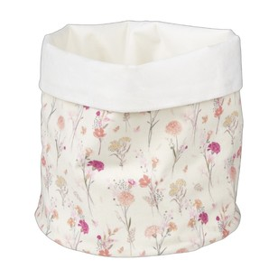 Ombre Home Beautiful Blossom Flower Natural & White Storage Bag