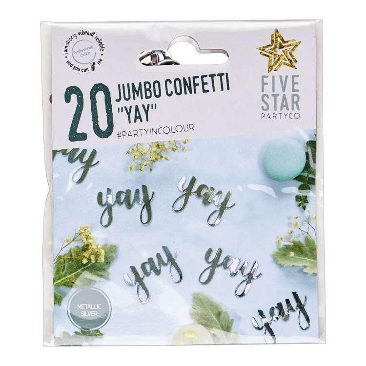 YAY Jumbo Confetti 20 Pack