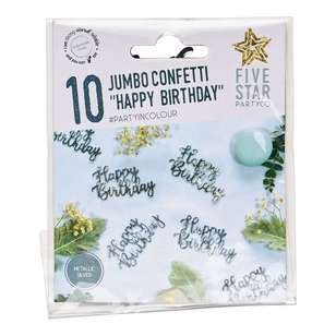 Happy BDAY Jumbo Confetti 10 Pack