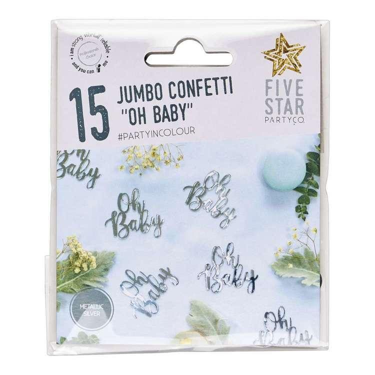 OH Baby Jumbo Confetti 15 Pack