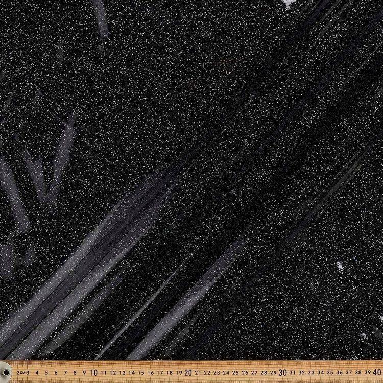 Clear Glitter Vinyl