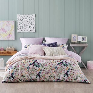 Ombre Home Beautiful Blossom Flowers Quilt Cover Set