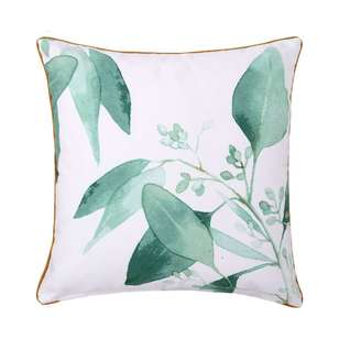Ombre Home Beautiful Blossom Leafy Cushion