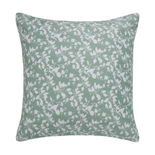 Ombre Home Beautiful Blossom Leaf Euro Cushion Cover