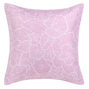Ombre Home Beautiful Blossom Flowers Euro Cushion Cover