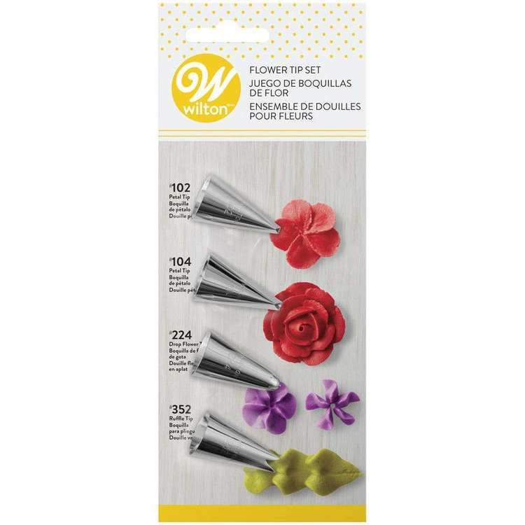 Wilton Flower Tip Set