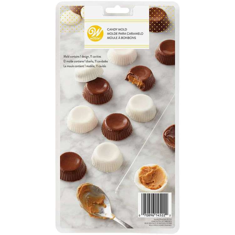 Wilton Peanut Butter Cup Candy Mould