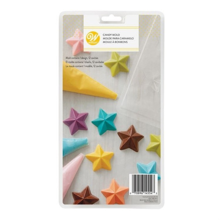 Wilton Stars Candy Mould