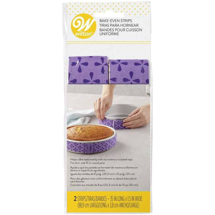 Wilton Bake Even Strips 2 Pack