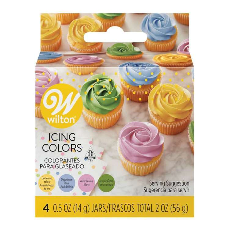 Wilton Garden Tone Colours Icing Colour Set