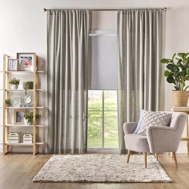 KOO Posy Rod Pocket Curtain
