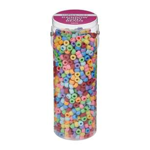 Crafters Choice Rainbow Beads In Tube