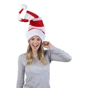 Jolly & Joy Celebrate Tall Stripe Santa Hat