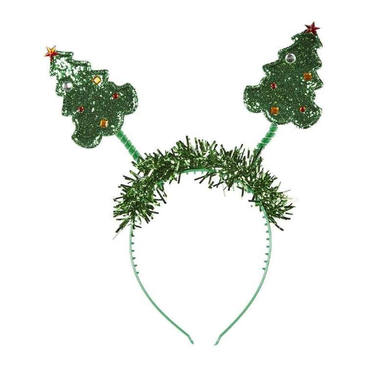 Jolly & Joy Celebrate Tree with Tinsel Head Bopper