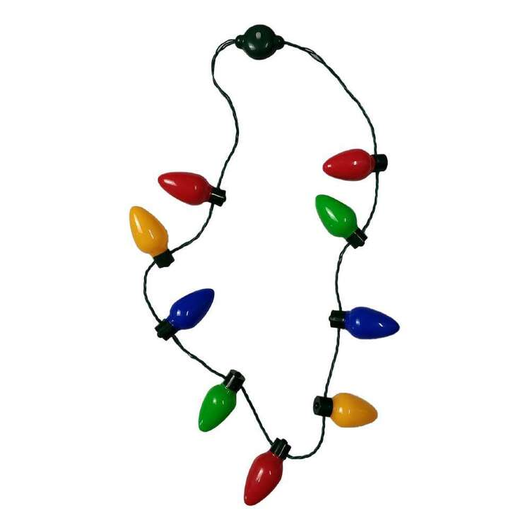 Jolly & Joy Light Up Christmas Lights Necklace