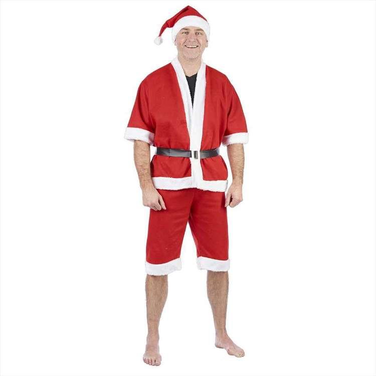 Jolly & Joy Celebrate Adult Summer Santa Suit
