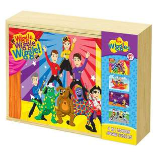The Wiggles 4 in 1 Jigsaw Puzzle