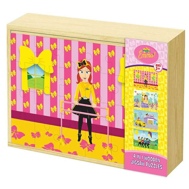 The Wiggles Emma 4 in 1 Jigsaw Puzzle