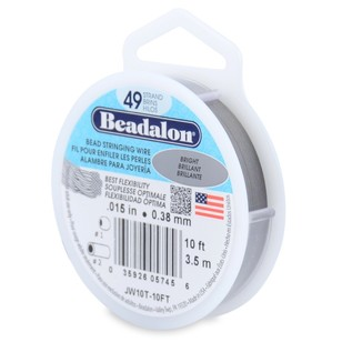 Beadalon 49 Strand Stainless Steel 3 m Wire