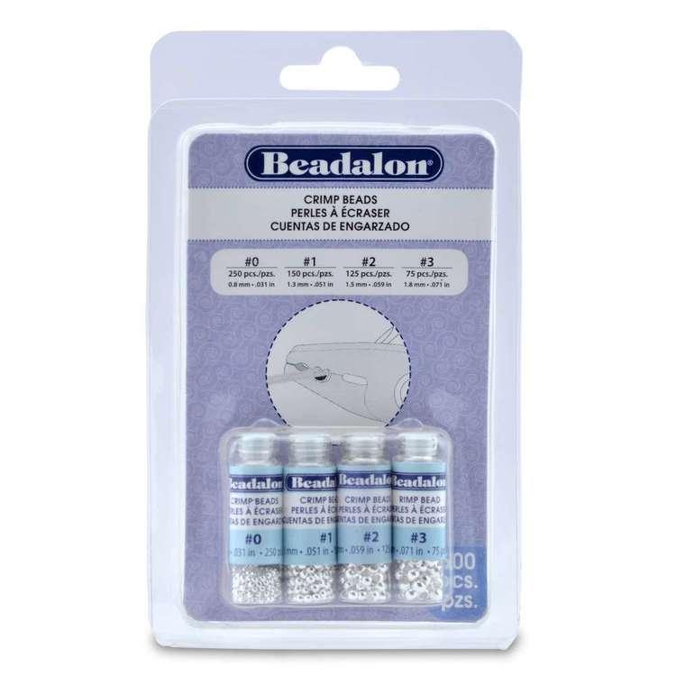 Beadalon Crimp Bead Variety 600 Pack
