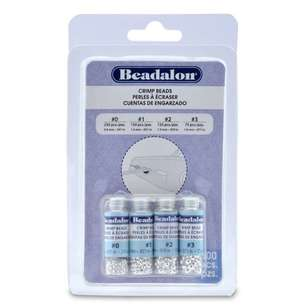 Beadalon Crimp Bead Variety 600 Pack