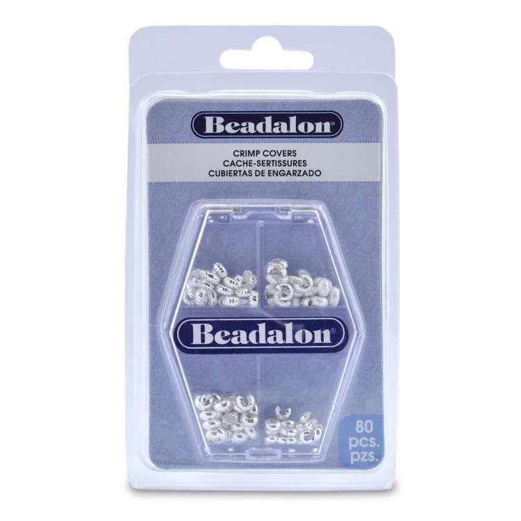 Beadalon Crimp Covers Variety 80 Pack