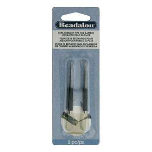 Beadalon Bead Reamer Tips 2 Pack
