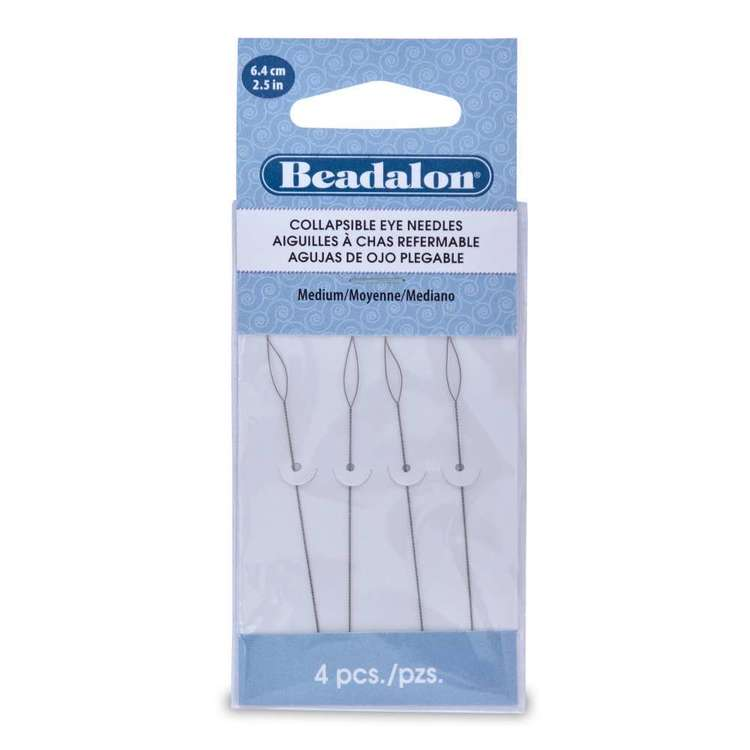 Beadalon Collapsible Eye Needle 4 Pack
