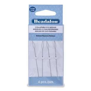 Beadalon Collapsible Eye Needle 4 Pack
